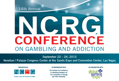 Save the Date! NCRG Conference on Gambling and Addiction