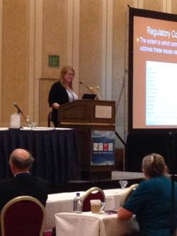 Dr. Debi LaPlante presents at the NCRG Conference