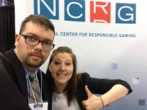 The NCRG's Nathan Smith and Amy Kugler attend the APA annual meeting