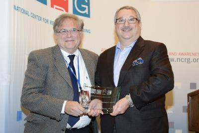 Dr. Jeffrey Derevensky and NCRG Chairman Alan Feldman