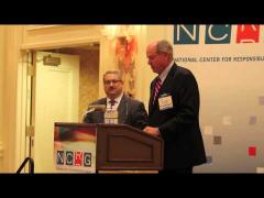 Dr. Randy Stinchfield receives the 2012 Scientific Achievement Award